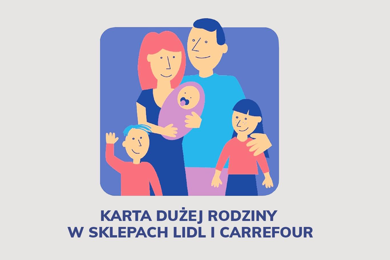 Masz Karte Duzej Rodziny W Lidlu I Carrefourze Zaplacisz Mniej Za Zakupy Gazetki Promocyjne Pl